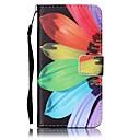 رخيصةأون ملابس وإكسسوارات الكلاب-غطاء من أجل Samsung Galaxy J7 (2016) / J5 (2016) / J5 محفظة / حامل البطاقات غطاء كامل للجسم زهور قاسي جلد PU