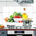 ieftine Protecție de Curățare-75x45cm model de legume cu ulei rezistent la apă rezistent la temperaturi înalte autocolant