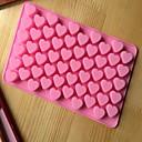 tanie Słuchawki i zestawy słuchawkowe-pieczenia silikonowe formy do pieczenia w kształcie serca dla czekolady CM-87