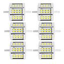 ieftine Benzi Lumină LED-6pcs 10 W Neoane 880 lm R7S 24 LED-uri de margele SMD 5730 Dual-Cap Alb Cald Alb Rece 85-265 V / 6 bc / RoHs