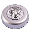 ieftine Lumini Nocturne LED-trei lampă de uz casnic caseta lampă lampă lampă de urgență a condus atingere de camping perete auto coadă (baterie nu sunt incluse)