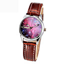 Buy Hot Women Luminous Quartz Watch Watches strap Ldaies Brand Star Sky Wrist Men's Clock Quartz-watch Relogio Feminino