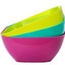 tanie Przybory i gadżety do pieczenia-Twardy plastik Jednolity kolor Pudełka śniadaniowe 1szt Organizacja kuchni