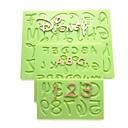 abordables Accesorios para Álbums de Fotos-Herramientas para hornear Silicona Pastel / Galleta / Chocolate Molde para hornear 1pc