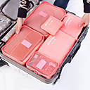 cheap Bathroom Gadgets-Textile Plastic Oval Travel Home Organization, 1pc Storage Bags