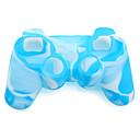 baratos Acessórios para PS4-Protetor de caixa do controlador de jogo Para Sony PS3 ,  Novidades Protetor de caixa do controlador de jogo Silicone 1 pcs unidade
