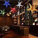 cheap Home Decoration-1Pc Christmas Star Pendant  Random Color Christmas Decorations