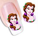 cheap Makeup & Nail Care-water transfer printing cartoon pattern nail stickers