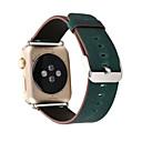 hesapli Bileklikler-Watch Band için Apple Watch Series 3 / 2 / 1 Apple Klasik Toka Gerçek Deri Bilek Askısı