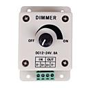 preiswerte Schalter & Steckdosen-Pwm Dimmer Controller für LED-Leuchten oder Farbband 12 Volt 8 ampadjustable Helligkeit Lichtschalter Dimmer Controller DC12V 8A 96W für LED-Streifen Licht
