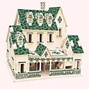 billige Herreure-Træpuslespil Træmodeller Berømt bygning Kinesisk arkitektur Hus Professionelt niveau Træ 1 pcs Børne Voksne Drenge Pige Legetøj Gave