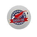 hesapli Cellphone & Device Holders-Benzin Desen Dekoratif Araç plakası