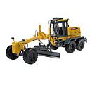 رخيصةأون ألعاب السيارات-KDW للبالغين بلاستيك ABS Motor Grader لعبة الشاحنات ومركبات البناء / لعبة سيارات ألعاب السيارات 1:28