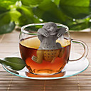 cheap Barware & Openers-Slow BrewTea Infuser - Cute Sloth Hanging Loose Leaf Silicone Mug Cup Straineg