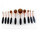 hesapli Makyaj ve Tırnak Bakımı-Makyaj fırçaları Profesyonel Fırça Setleri / Allık Fırçası / Far Fırçası Sentetik Saç Tam Kaplama Plastik / Naylon