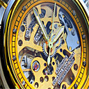 baratos Colares-Homens Relógio de Moda Quartzo Prata Analógico senhoras Amuleto - Dourado