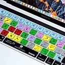 ieftine Ecrane Protecție Tabletă-xskn® Photoshop cc comenzi rapide piele tastatură silicon și protector pentru 2016 touchbar nou MacBook Pro 13.3 / 15.4 cu retina tactil