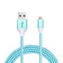 cheap HDMI Cables-USB 2.0 Normal / Braided Cable iPad / Apple / iPhone for 120 cm For Aluminum / Nylon / Metal