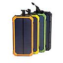 رخيصةأون كاميرا هاتف جوال-بنك الطاقة الشمسية للماء 16000mah شاحن للطاقة الشمسية المزدوجة منافذ USB شاحن خارجي powerbank للهاتف الذكي مع الصمام الخفيفة