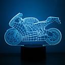 hesapli Çizim ve Yazı Aletleri-1 parça 3D Gece Görüşü Çok Renkli USB Sensör Kısılabilir Su Geçirmez Renk Değiştiren