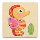 ieftine Instrumente Scris & Desen-Carduri Educaționale Puzzle Puzzle Lemn Pegged puzzle-uri Jucării Educaționale Jucarii Animale Reparații de Copil Pentru copii 1 Bucăți