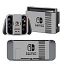baratos Acessórios para Nintendo 3DS-B-SKIN Nintendo Switch / NS Adesivo Para Nintendo Interruptor ,  Portátil / Novidades Adesivo Vinil 1 pcs unidade