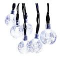 hesapli LED Spot Işıkları-GMY® 6m Dizili Işıklar 30 LED'ler Beyaz Şarj Edilebilir / Su Geçirmez <5 V / IP44