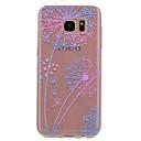 voordelige Galaxy S-serie hoesjes / covers-hoesje Voor Samsung Galaxy S8 S7 edge Transparant Patroon Achterkant Paardebloem Zacht TPU voor S8 S7 edge S7 S6 edge S6 S5 Mini S5