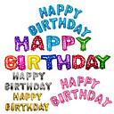 رخيصةأون تزيين المنزل-13pcs / set 16inch عيد ميلاد سعيد الأبجدية رسالة بالونات متعددة الألوان احباط بالونات حزب