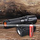 hesapli Fenerler-UltraFire W-878 LED Fenerler LED 1800 lm 5 Kip LED Piller ve Şarj Aleti ile Ayarlanabilir Fokus Kamp/Yürüyüş/Mağaracılık Günlük Kullanım