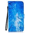 preiswerte iPhone Hüllen-Hülle Für Samsung Galaxy S8 Plus S8 Kreditkartenfächer Geldbeutel mit Halterung Flipbare Hülle Muster Ganzkörper-Gehäuse Landschaft Hart