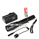 cheap Makeup & Nail Care-1000 lm LED Flashlights / Torch LED 5 Mode 5 - Zoomable / Waterproof