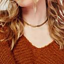 preiswerte Halsketten-Damen Einzelkette Halsketten - Blattform Einzigartiges Design, Modisch Gold, Silber Modische Halsketten Für Weihnachts Geschenke, Party, Besondere Anlässe