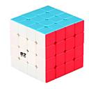 billiga Kontorsmaterial-Rubiks kub QI YI Hämnd 4*4*4 Mjuk hastighetskub Magiska kuber Pusselkub Lena klistermärken Barn Vuxna Leksaker Unisex Pojkar Flickor Present
