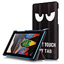baratos Capas Para Tablet-Capinha Para Lenovo Capa Proteção Completa / Tablet Cases Rígida PU Leather para