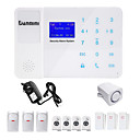 billige CCTV Cameras-Danmini Hjem Alarmsystemer GSM Platform GSM SMS Telefon Panel Keyboard Fjernstyring 433Hz