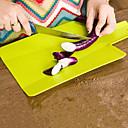 hesapli Fırın Araçları ve Gereçleri-Mutfak aletleri Plastik Yaratıcı Mutfak Gadget Kesme Tahtası Pişirme Kaplar İçin