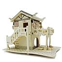 رخيصةأون 3D الألغاز-قطع تركيب3D لهو خشب كلاسيكي للأطفال للجنسين ألعاب هدية