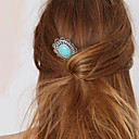 cheap Children Puzzles-Women's Party Jewelry / Vintage / Elegant Gem / Alloy Hair Clip / Hairpins / Hairpins