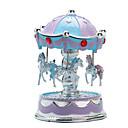 ieftine Jucarii muzicale-Cutie muzicală Carusel Merry Go Round Drăguț Iluminat Plastic Stil European Pentru copii Adulți Copii Unisex Jucarii Cadou