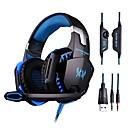 hesapli USB Flaş Sürücüler-Kulak Üzerinden / Saç Bandı Kablolu Kulaklıklar Plastik Oyunlar Kulaklık HIFI / Ses Kontrollü / Mikrofon ile kulaklık
