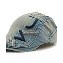 رخيصةأون قبعات الرجال-أسود برتقالي أزرق البحرية قبعة قلنسوة بقع رجالي قطن,رياضي Active