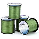 저렴한 낚시 릴-PE 꼰 선 / Dyneema 낚시줄 300M / 330 야드 80LB 70LB 60LB 0.1-0.5 mm mm 용 바다 낚시 플라이 피싱 베이트 캐스팅 / 얼음 낚시 / 스피닝 / 채 낚시 / 민물 낚시 / 50LB