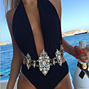 Buy Fashion Sexy Body Jewelry Chain Charm Exaggerated Night Club Party Prethoracic Crystal Necklace Women's Statement