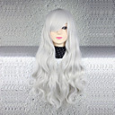 cheap Barware & Openers-Cosplay Wigs Cosplay Cosplay Silver Anime Cosplay Wigs 30 inch Heat Resistant Fiber Women's Halloween Wigs