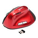 abordables Câbles HDMI-HXSJ Sans fil 2.4G souris Vertical Optique 6 pcs clés 2400 dpi