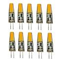ieftine Inele-1.5W G4 Becuri LED Bi-pin T 1 LED-uri COB Decorativ Alb Cald Alb Rece 250lm 2700-3500/6000-6500