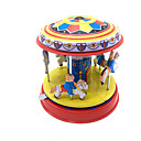 cheap Hair Jewelry-Wind-up Toy Cute Horse / Carousel / Merry Go Round Metalic / Iron 1pcs Pieces Boys' Kid's Gift