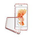 cheap iPhone Cases-Case For Apple iPhone 7 Plus / iPhone 7 / iPhone 6s Plus Ultra-thin / Transparent / Translucent Back Cover Solid Colored Hard Acrylic