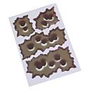 hesapli Oto Stickerları-Ziqiao 24/6/15 3d araba stilinde sahte kurşun delikleri komik motosiklet / araba etiketleri çıkartma kişiliği vinil çıkartma aksesuarları